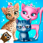 Cat Hair Salon Birthday Party – Virtual Kitty Care 6.0.20 APK (MOD, Unlimited Money)