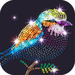 Diamond Coloring Sequins Art & Paint by Numbers  1.5.3 APK (MOD, Unlimited Money)