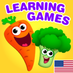 Funny Food educational games for kids toddlers  APK (MOD, Unlimited Money) 2.2.0.12
