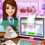 High School Cash Register: Cashier Games For Girls  APK (MOD, Unlimited Money)