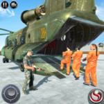 OffRoad US Army Helicopter Prisoner Transport Game 2.3  APK (MOD, Unlimited Money)
