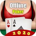 Poker Offline Free 2020 – Texas Holdem With Girl 1.9 APK (MOD, Unlimited Money)