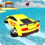 Water Surfer car Floating Beach Drive 1.16 APK (MOD, Unlimited Money)