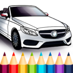 World Cars Coloring Book 1.17.4.1  APK (MOD, Unlimited Money)