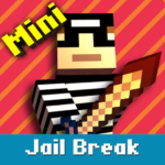 Cops N Robbers: Pixel Prison Games 1 1.5.5 APK (MOD, Unlimited Money)