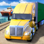 Ferry Port Trucker Parking Simulator 1.2 APK (MOD, Unlimited Money)