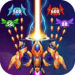 Galaxy Raid: Space shooter 7.1.1 APK (MOD, Unlimited Money)