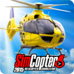 Helicopter Simulator SimCopter 2015 Free 1.8.3 APK (MOD, Unlimited Money)
