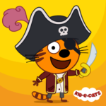 Kid-E-Cats: Pirate treasures. Adventure for kids 1.1.5 APK (MOD, Unlimited Money)