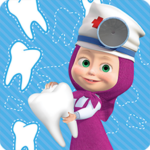 Masha and the Bear: Free Dentist Games for Kids 1.1.6 APK (MOD, Unlimited Money)