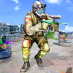 Paintball Arena Shooting: Shooter Survivor Battle 1.1.8 APK (MOD, Unlimited Money)
