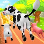Pets Runner Game – Farm Simulator 1.6.3 APK (MOD, Unlimited Money)