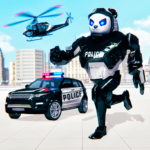 Police Panda Robot Transformation: Robot Shooting 1.6 APK (MOD, Unlimited Money)