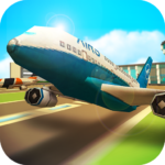 Airport Craft: Fly Simulator Boys Craft Building 1.2-minApi23 APK (MOD, Unlimited Money)