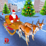 Christmas Santa Rush Gift Delivery- New Game 2019 8 APK (MOD, Unlimited Money)