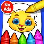 Coloring Games: Coloring Book, Painting, Glow Draw 1.0.7 APK (MOD, Unlimited Money)