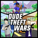 Dude Theft Wars Online FPS Sandbox Simulator BETA  0.9.0.3 APK (MOD, Unlimited Money)