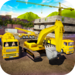 House Building Simulator: try construction trucks! 1.3.1 APK (MOD, Unlimited Money)