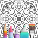 Mandala Coloring Book 3.1.4 APK (MOD, Unlimited Money)