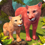 Mountain Lion Family Sim Animal Simulator  1.8.1 APK (MOD, Unlimited Money)