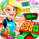 Supermarket Manager: Cashier Simulator Kids Games  APK (MOD, Unlimited Money)