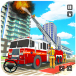 Truck Driving Rescue Game – Fire Truck Rescue 911 3 APK (MOD, Unlimited Money)