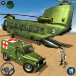 US Army Ambulance Driving Game : Transport Games 2.8 APK (MOD, Unlimited Money)