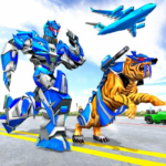 US Police Tiger Robot Game: Police Plane Transport 1.1.9 APK (MOD, Unlimited Money)