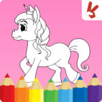 Unicorn coloring pages : Easy drawing for kids 1.7.2 APK (MOD, Unlimited Money)