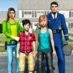 Virtual Police Dad Simulator : Happy Family Games 2.0.0 APK (MOD, Unlimited Money)