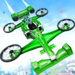 Flying Formula Car Games 2020: Drone Shooting Game 1.7 APK (MOD, Unlimited Money)