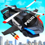 Flying Police Helicopter Car Transform Robot Games 29 APK (MOD, Unlimited Money)