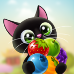 Fruity Cat –  bubble shooter! 1.62.3  APK (MOD, Unlimited Money)