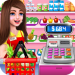 Supermarket Shopping Cash Register Cashier Games  APK (MOD, Unlimited Money) 1.6