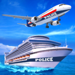 US Police Cruise Ship Car Truck Plane Transporter 2.0.3 APK (MOD, Unlimited Money)