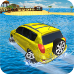 Water Surfer Jeep Cars Race on Miami Beach 1.5 APK (MOD, Unlimited Money)