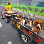 ATV Bike Dog Transporter Cart Driving: Dog Games 1.8 APK (MOD, Unlimited Money)