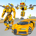 Bee Robot Car Transformation Game: Robot Car Games  Bee Robot Car Transformation Game: Robot Car Games   APK (MOD, Unlimited Money)