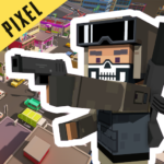 PIXEL ROYALE™ GUN 3D MOBILE UNKNOWN BATTLE GROUND 1.0.30 APK (MOD, Unlimited Money)