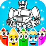 Painting : Robots 1.1.1 APK (MOD, Unlimited Money)