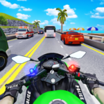 Police Moto Bike Highway Rider Traffic Racing Game 67 APK (MOD, Unlimited Money)