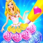 Rainbow Princess Cake Maker – Kids Cooking Games 1.8 APK (MOD, Unlimited Money)