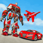 Real Air Jet Fighter – Grand Robot Shooting Games 1.1.6 APK (MOD, Unlimited Money)