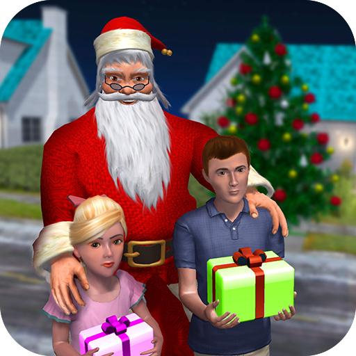 Rich Dad Santa: Fun Christmas Game 1.0.11 APK (MOD, Unlimited Money)