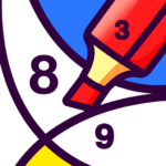 BATIQ 🎨 Coloring book by number | Color Therapy 1.5.3.0 APK (MOD, Unlimited Money)