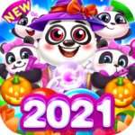 Bubble Shooter Cooking Panda  1.3.34 APK (MOD, Unlimited Money)