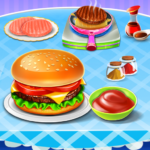 Burger Maker Fast Food Kitchen Game 0.6 APK (MOD, Unlimited Money)