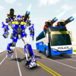 Bus Robot Car Transform War –Police Robot games 3.1  APK (MOD, Unlimited Money)