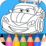Cars Coloring Pages for Kids 1.3.8 APK (MOD, Unlimited Money)