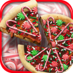 Christmas Candy Pizza Maker Fun Food Cooking Game 1.4 APK (MOD, Unlimited Money)